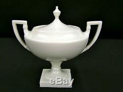 Vintage Lenox Colonial Ivory Tea Set -Tea Pot Creamer Sugar & Compote Mint