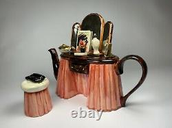 Vintage Limited Edition Made in England Tony Carter Vanity Fair Teapot