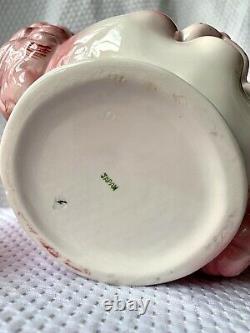 Vintage PINK POODLE Teapot Lefton Japan RARE
