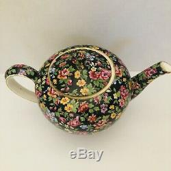 Vintage Royal Winton Grimwades Esther Teapot Chintz Floral Tea Set Ware 9 x 5