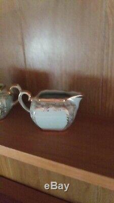 Vintage Sadler cube teapot set