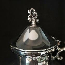 Vintage Silver Plate Coffee Tea Pot Service Set BSC Birmingham Silverplated