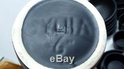 Vintage Sylha Dinner Black Dinner Set Australian Pottery Coffee Mugs Teapot Jugs