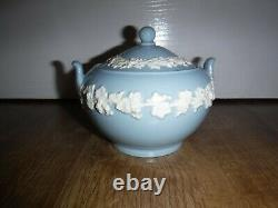 Wedgwood Embossed Queensware Tea Set For 4 Including Teapot Very Good Con