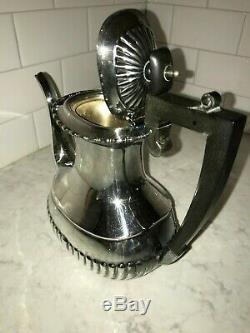 William Adams Sheffield Silver Plate 2 Teapots Coffee Pot 6 Piece Set 76030