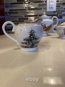 Williams Sonoma Twas The Night Before Christmas Tea Set