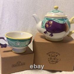 Yabacha Teacup Pot Death Teapot Set Pokemon Center Original Limited NIB